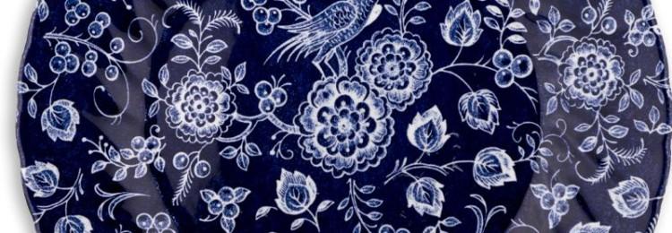 Тарелка обеденная Churchill Nankin Blue 25 см
