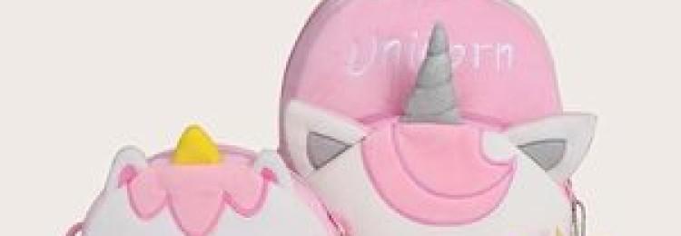 Сумка единорог для девочки (комплект из 3-х штук)