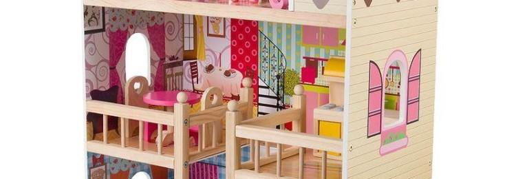 Кукольный домик с мебелью Edufun