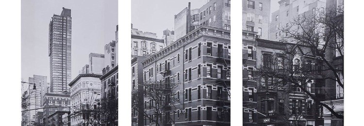 Модульная картина из 3 частей «Два такси» 90х70 см