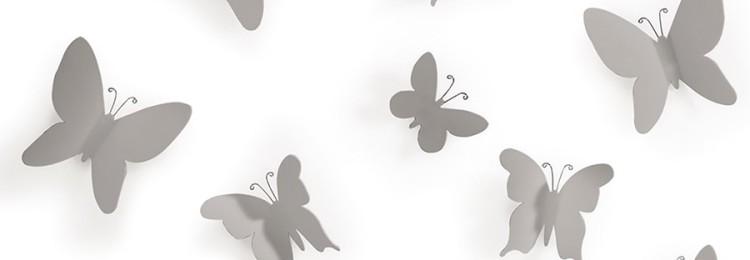 Украшение для стен — декоративные наклейки «Бабочки»