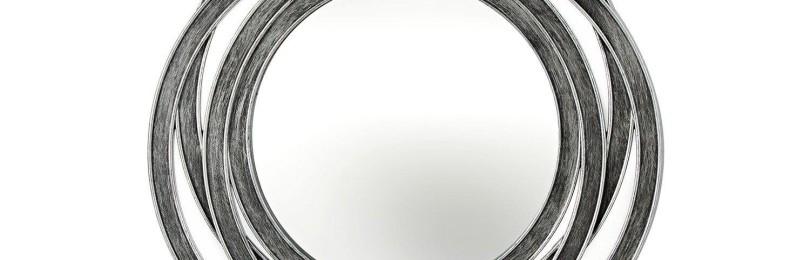 Круглое зеркало в раме 50,2х49,2 см