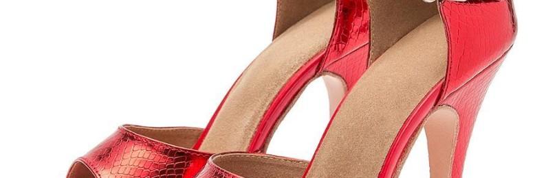 Танцевальная обувь на каблуках