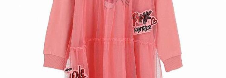 Платье для девочки «Розовая пантера»