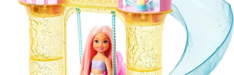 Кукла Barbie Русалочка с замком