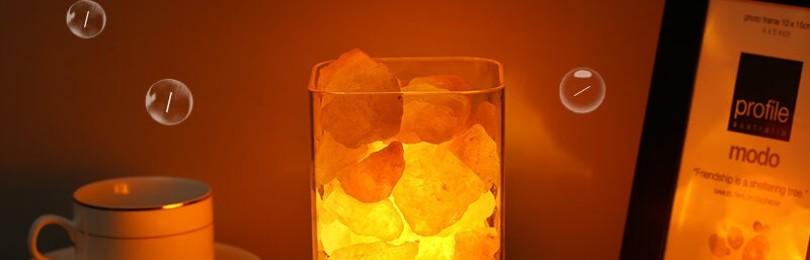 Соляная лампа для дома