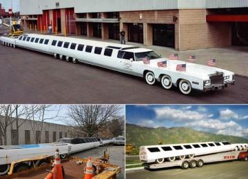 Cамый длинный автомобиль в мире в метрах