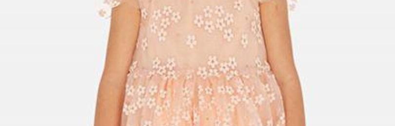 Платье для девочки Mayoral (Испания) Оранжевый