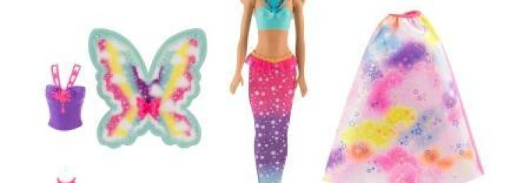 Кукла Барби Фея-Русалочка со съемным хвостом