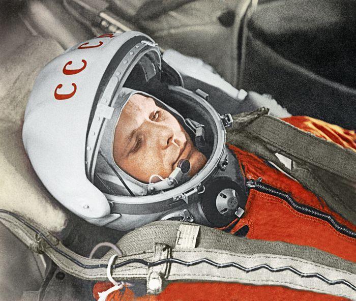 Фото Гагарина В Космосе
